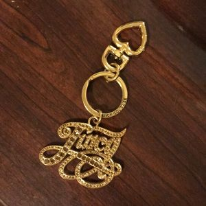 Juicy couture charm/ key ring